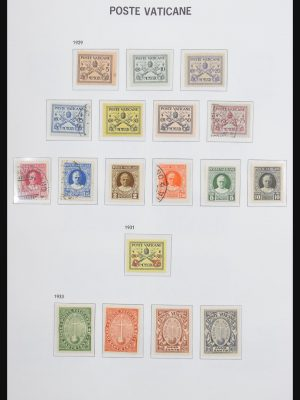 Stamp collection 31105 Vatican 1929-1995.