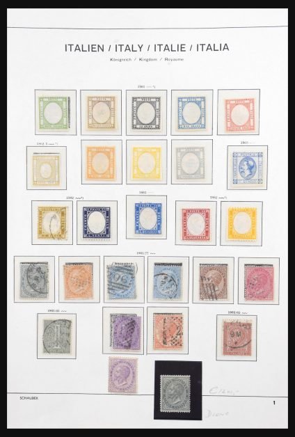 Stamp collection 31112 Italy 1861-1984.