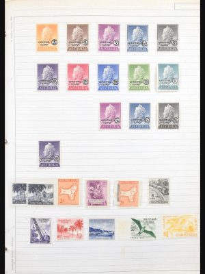 Stamp collection 31117 Britsish territories in the Pacific 1880-1988.