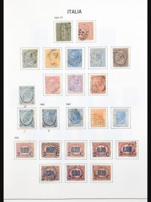 Stamp collection 31126 Italy 1862-1985.
