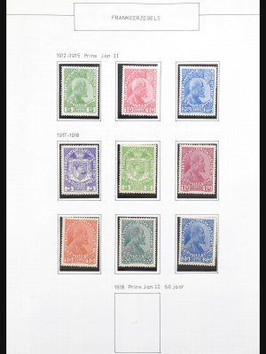 Stamp collection 31131 Liechtenstein 1912-2013.