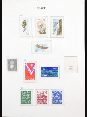 Stamp collection 31137 Norway 1970-2008.