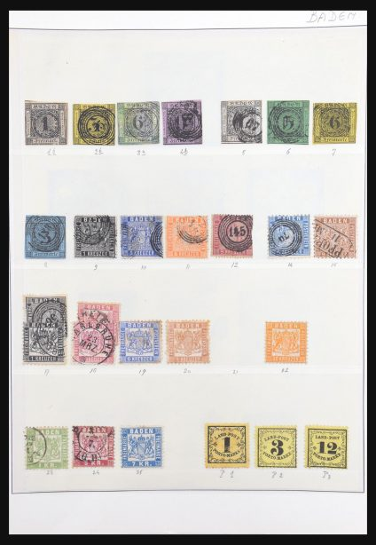 Stamp collection 31138 Germany 1850-1956.
