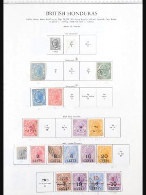 Stamp collection 31150 British Honduras 1873-1980.