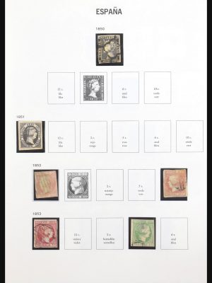 Stamp collection 31158 Spain 1850-1938.