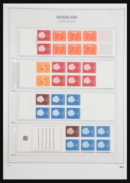 Stamp collection 31159 Netherlands stamp booklets 1964-1994.