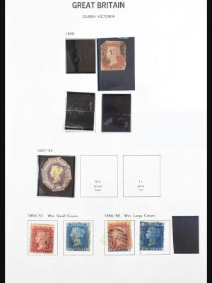 Stamp collection 31174 Great Britain 1847-1996.