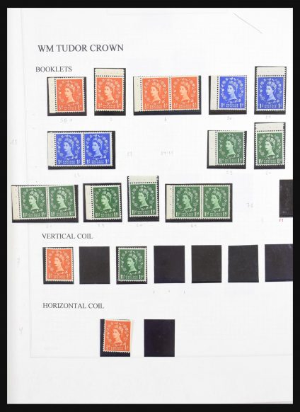 Stamp collection 31176 Great Britain 1956-1970.