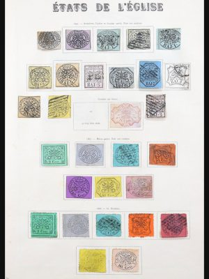 Stamp collection 31182 Vatican 1852-1971.
