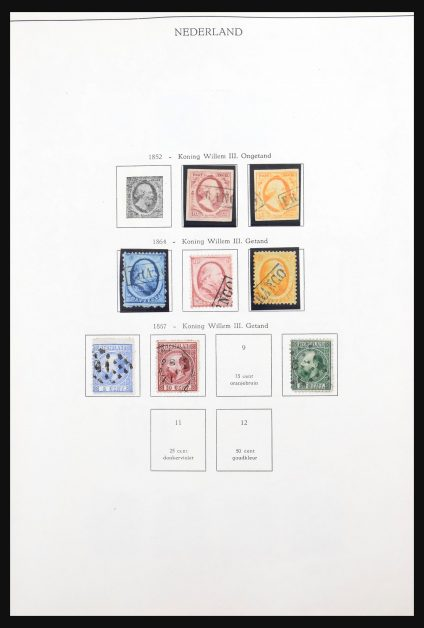 Stamp collection 31185 Netherlands 1852-1984.