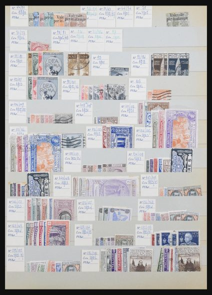 Stamp collection 31191 Italy 1900-1953.