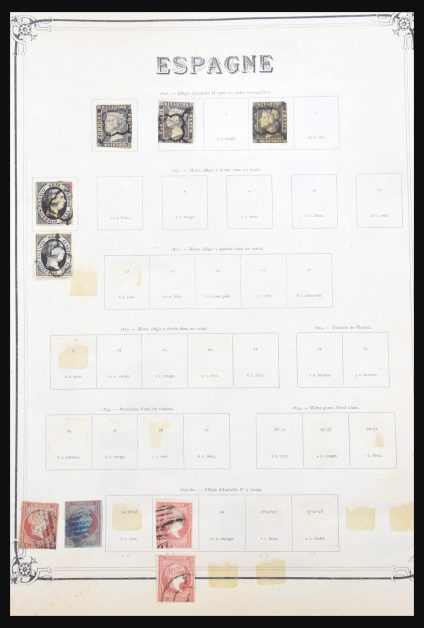 Stamp collection 31192 Spain and colonies 1850-1960.