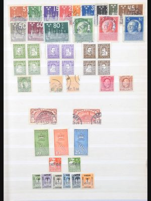 Stamp collection 31196 Scandinavia 1860-1935.