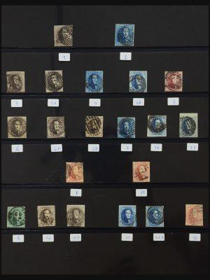 Stamp collection 31210 Belgium 1849-2010.