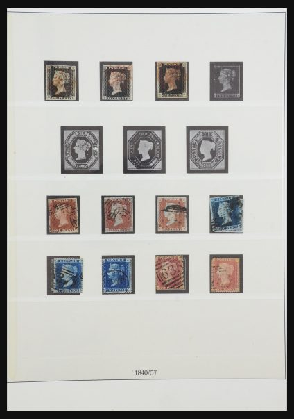 Stamp collection 31211 Great Britain 1840-2001.