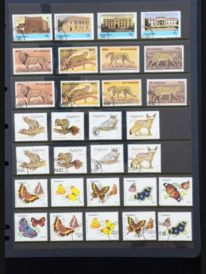 Stamp collection 31224 Rhodesia/Zimbabwe 1946-2000.