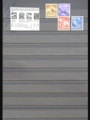 Stamp collection 31233 German and Italian occupation Laibach 1941-1945.