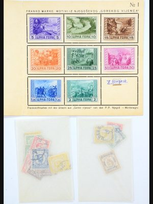 Stamp collection 31247 Montenegro 1874-1913.