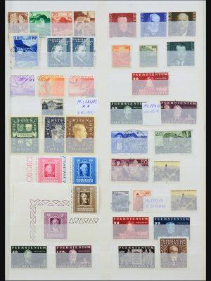 Stamp collection 31251 Liechtenstein 1912-2018!
