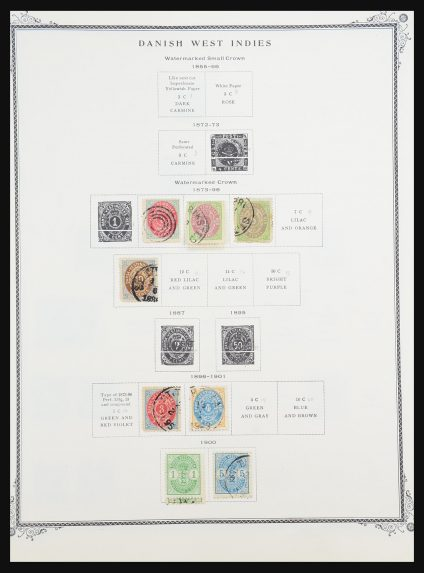 Stamp collection 31254 Scandinavia 1855-1978.