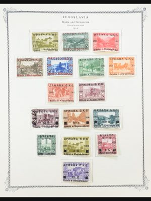 Stamp collection 31256 Yugoslavia 1918-1989.