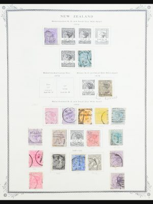 Stamp collection 31259 New Zealand and territories 1874-1975.