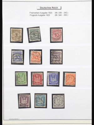 Stamp collection 31266 Germany 1923-1932.
