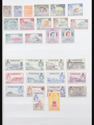 Stamp collection 31271 British Commonwealth 1953-1970.