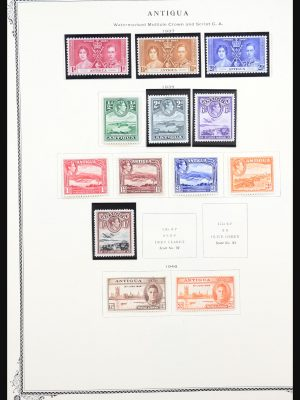 Stamp collection 31272 British colonies in America 1860-1975.