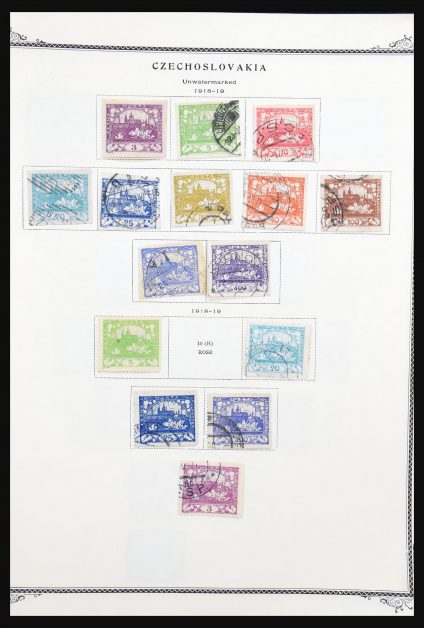 Stamp collection 31273 Czechoslovakia 1918-2006.