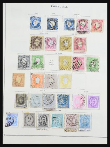 Stamp collection 31274 Portugal and colonies 1853-1990.