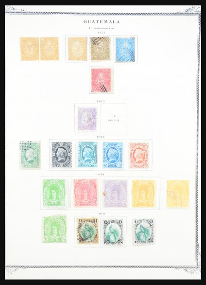 Stamp collection 31278 Central America 1863-1978.