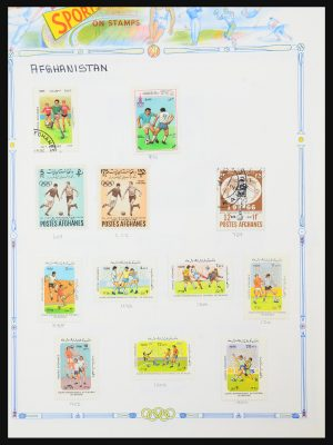 Stamp collection 31288 Football 1930-2012.