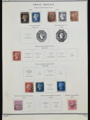 Stamp collection 31290 Great Britain and Commonwealth 1840-1970.