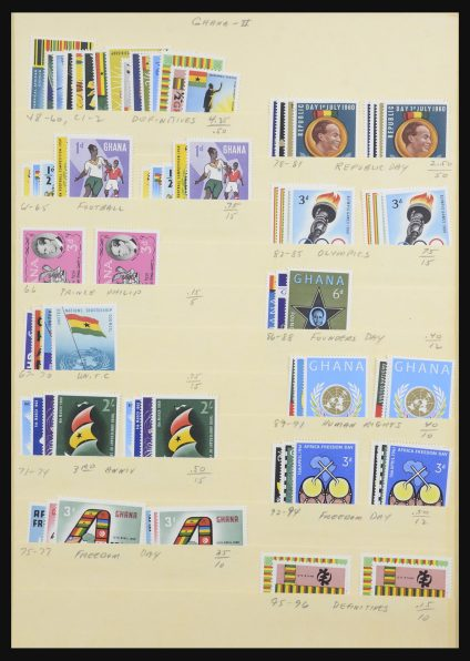 Stamp collection 31299 World sortinglot to 1980.
