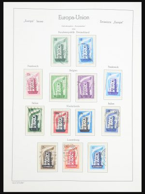 Stamp collection 31303 Europa CEPT 1956-2007.
