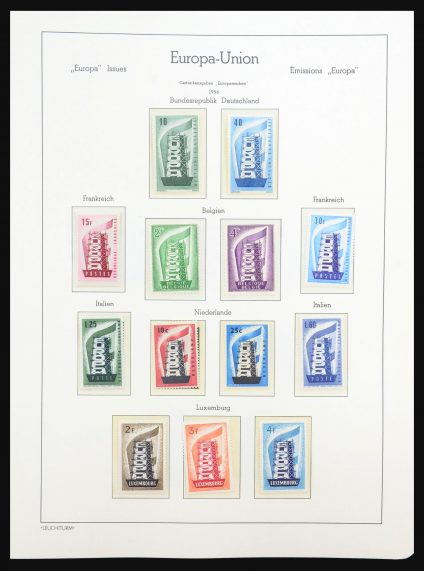 Stamp collection 31309 Europa CEPT 1956-2007.