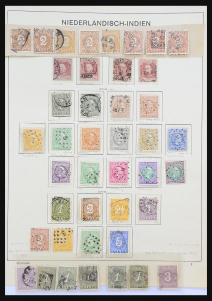 Stamp collection 31312 Dutch territories 1864-1975.