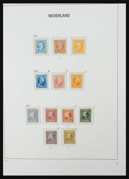 Stamp collection 31319 Netherlands 1852-1974.