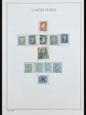 Stamp collection 31323 USA 1847-1995.