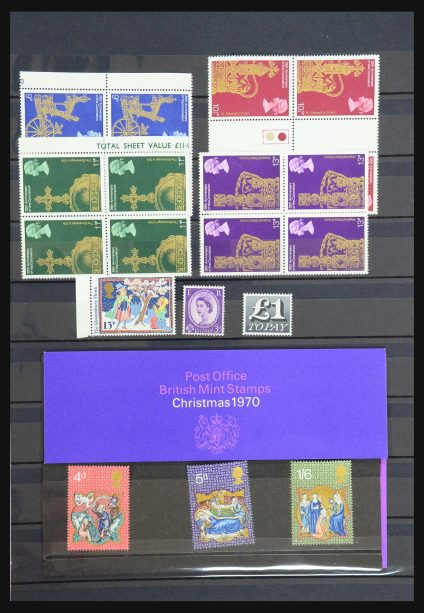 Stamp collection 31330 Great Britain 1966-1991.