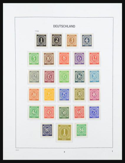 Stamp collection 31332 German Zones 1945-1949.