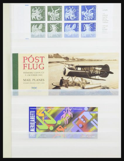 Stamp collection 31337 Iceland stamp booklets 1990-2016!
