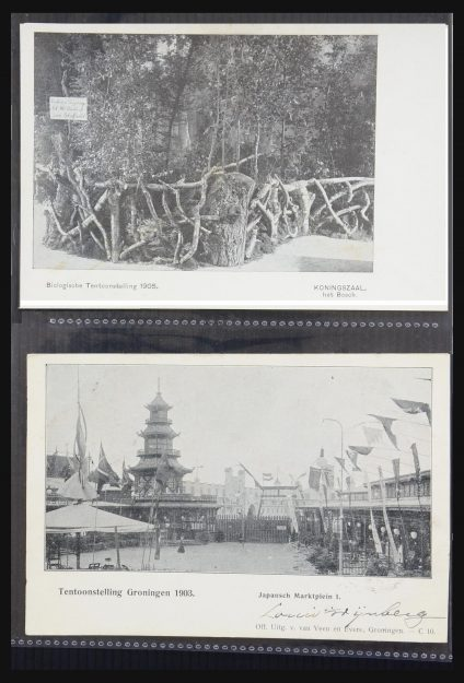 Stamp collection 31338 Netherlands picture postcards 1897-1914.