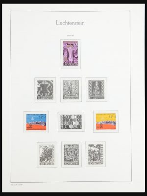 Stamp collection 31339 Liechtenstein 1960-2019!