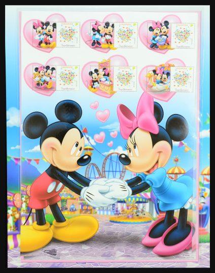Stamp collection 31353 Walt Disney till modern.