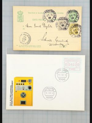 Stamp collection 31358 Portugal/Luxemburg/Greece covers 1880-1960.