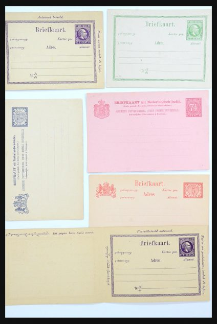 Stamp collection 31361 Netherlands Indies covers 1880-1950.