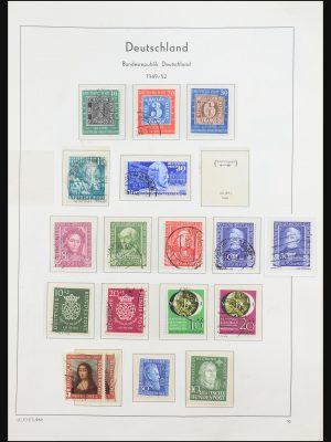 Stamp collection 31373 Germany 1949-1969.