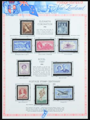Stamp collection 31386 New Zealand 1953-1989.